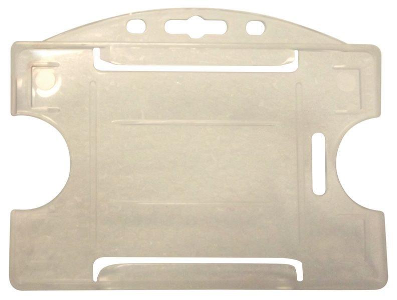 Portabadge rigidi in plastica colorata per carte ISO