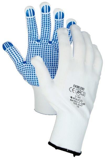 Guanti antistrappo in cotone Polyco Matrix® D Grip