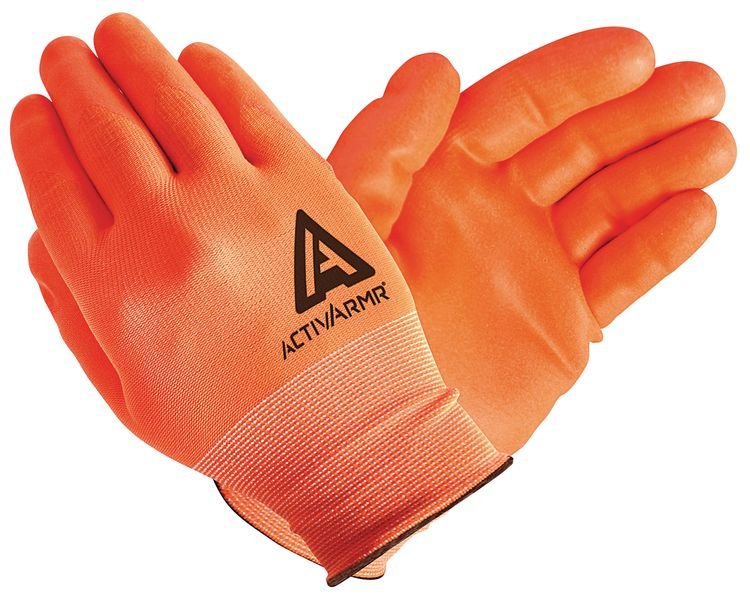 Guanti da manutenzione ad alta visibilità Ansell Activarmr® HI-VIZ™ 97-012