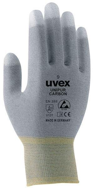 Guanti da manutenzione Uvex Unipur - carbone