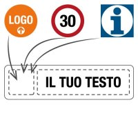 Cartelli di segnalazione aziendale personalizzati