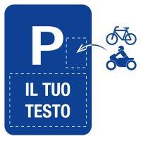 Cartelli per parcheggio in alluminio da personalizzare