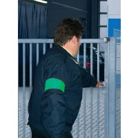 Bracciali di sicurezza fluorescenti senza testo in PVC morbido