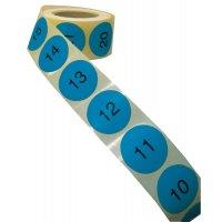 Bollini in carta multiuso numerati