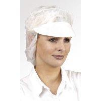 Cuffie protettive Tidy® con visiera, berretto a reticella