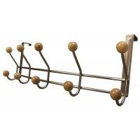 Appendiabiti standard per porta in metallo e legno