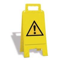 """Cavalletto di segnalazione """"Pericolo Generico"""" EN ISO 7010 - W001"""