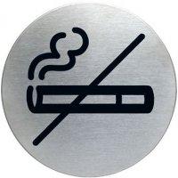 """Cartello d'informazione design rotondo """"Vietato fumare"""""""