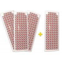 """Pack da 4 tavole di pittogrammi CLP """"Comburente"""" (3+1 gratuita) - GHS03"""