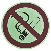 """Pittogramma antiscivolo per pavimento """"Vietato fumare"""""""