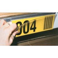 Porta etichette magnetici in PVC