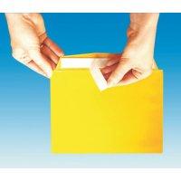Buste proteggi documenti colorate con 1 o 2 strisce adesive