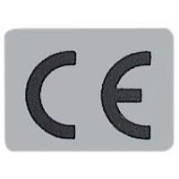 Etichette con marcatura CE con adesivo permanente