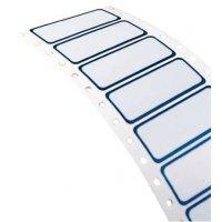 Etichette in poliestere metallizzato per stampante a matrice