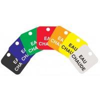 Marcatori per valvole personalizzati incisi in Setonply