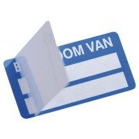 Etichette antimanomissione autolaminanti Seton-Seal personalizzate