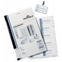 Etichette pretagliate da stampare per portabadge