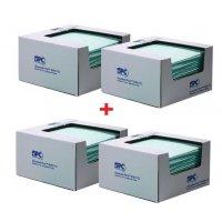 Prezzo speciale - Confezione da 4 scatole di fogli assorbenti per prodotti chimici