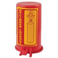 Sistema di bloccaggio per bombola a gas