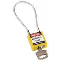 Lucchetto a cavo compatto - speciale per lockout elettrico