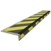 """Profilo antiscivolo a """"L"""" per gradini in acciaio inossidabile"""
