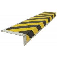 """Profili antiscivolo a """"L"""" per gradini in alluminio colorato"""