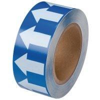 Marcatori adesivi in poliestere laminato, a tinta unita o con frecce