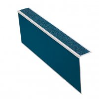 Profilo per gradini in alluminio 2 in 1