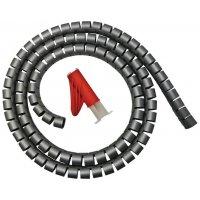 Guaina flessibile raccoglicavi + inseritore