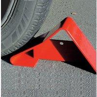 Cunei blocca ruote in acciaio per auto e camion