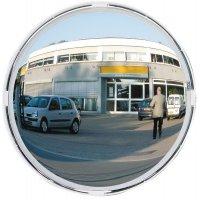 Specchio di sicurezza rotondo con visibilità a 180°