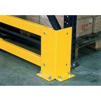 Protezioni per pali e scaffalature in acciaio