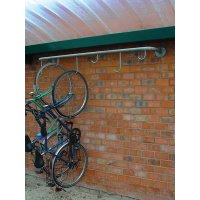 Portabiciclette da parete per sospensione da 4 a 6 bici