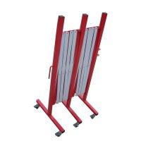 Barriera estensibile in metallo grande lunghezza