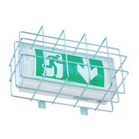 Griglia di protezione per blocchi autonomi di illuminazione di sicurezza