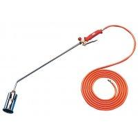 Cannello a gas portatile per segnaletica orizzontale termoplastica