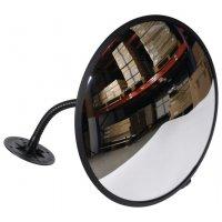 Specchio di sorveglianza con braccio flessibile