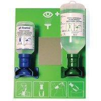 """Dispositivo di emergenza oculare combinato soluzione """"salina e neutra"""" Plum"""