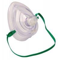 Maschera per respirazione bocca a bocca in silicone