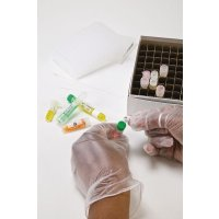 Etichette per tappi di provette di laboratorio in poliestere - per etichettatrice BMP51