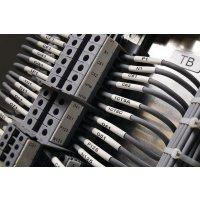 Marcatori termoretraibili per cavi e fili senza alogeni - per etichettatrice BMP71