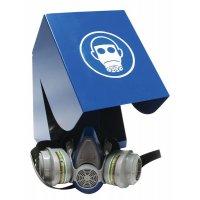 Contenitore per maschera respiratoria in acciaio laccato