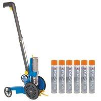 Kit di 6 spray di vernice epossidica + 1 traccialinee AD Easyline®