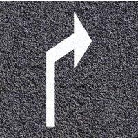 Segnaletica orizzontale termoplastica - Freccia direzionale svolta a destra o a sinistra