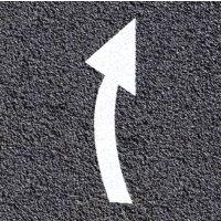 Segnaletica orizzontale termoplastica - Freccia di deviazione corsia di marcia a destra o a sinistra