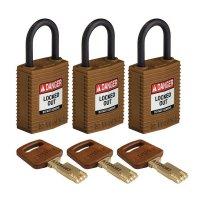 Lucchetti per lockout Safekey in nylon