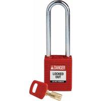Lucchetti per lockout Safekey in nylon con corpo in acciaio