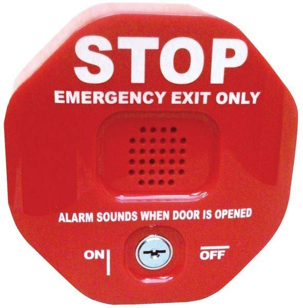 Allarme per porte di emergenza