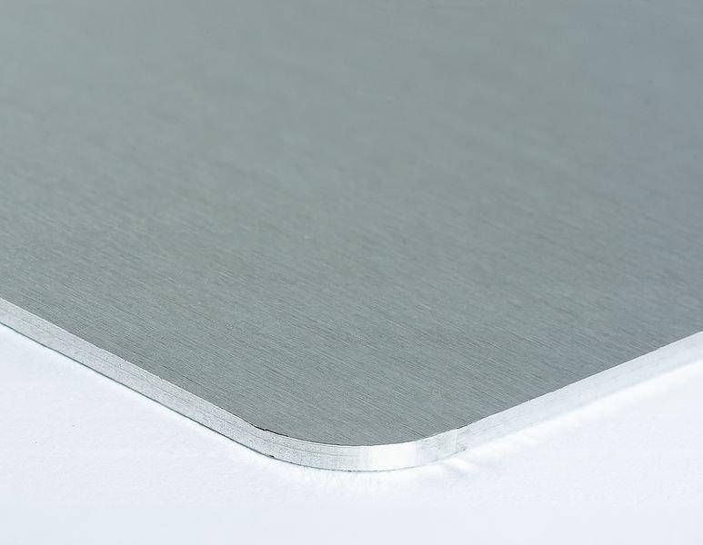 Pittogramma Freccia direzionale 90° in alluminio - Seton