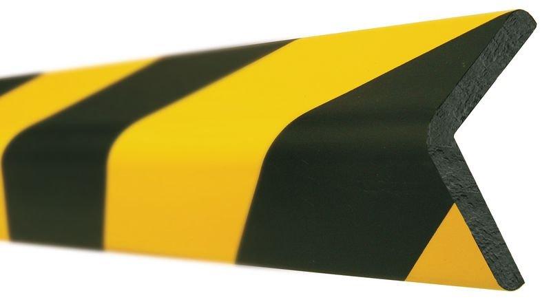 Profilo antiurto sottile ad angolo in schiuma Optichoc - spigolo da 46 mm